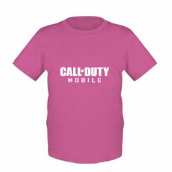 Детская футболка Call of Duty Mobile