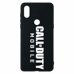 Чехол для Xiaomi Mi Mix 3 Call of Duty Mobile