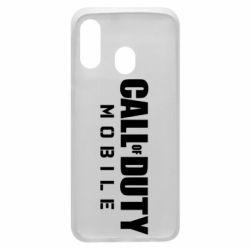 Чехол для Samsung A40 Call of Duty Mobile