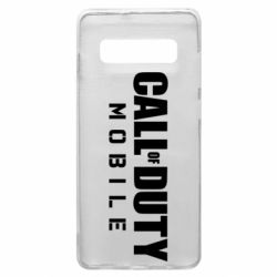 Чехол для Samsung S10+ Call of Duty Mobile