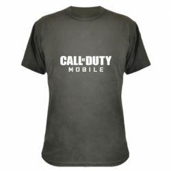 Камуфляжная футболка Call of Duty Mobile