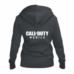 Женская толстовка на молнии Call of Duty Mobile