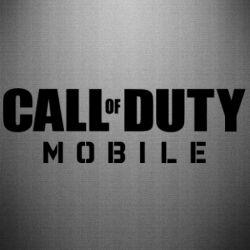 Наклейка Call of Duty Mobile