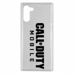 Чехол для Samsung Note 10 Call of Duty Mobile