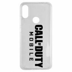 Чехол для Xiaomi Redmi Note 7 Call of Duty Mobile