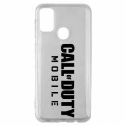 Чехол для Samsung M30s Call of Duty Mobile