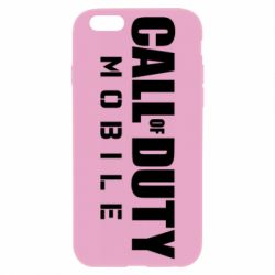 Чехол для iPhone 6 Plus/6S Plus Call of Duty Mobile