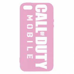 Чехол для iPhone5/5S/SE Call of Duty Mobile