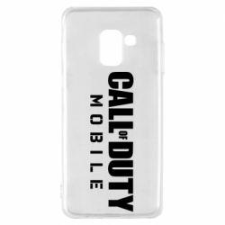 Чехол для Samsung A8 2018 Call of Duty Mobile