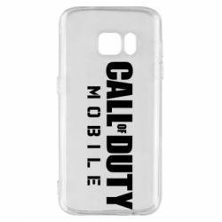 Чехол для Samsung S7 Call of Duty Mobile