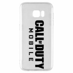 Чехол для Samsung S7 EDGE Call of Duty Mobile