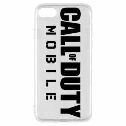 Чехол для iPhone 8 Call of Duty Mobile