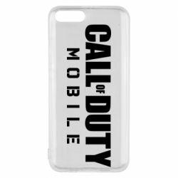 Чехол для Xiaomi Mi6 Call of Duty Mobile