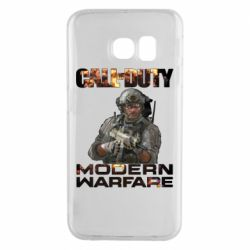 Чехол для Samsung S6 EDGE Call of Duty: Modern Warfare