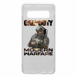 Чехол для Samsung S10 Call of Duty: Modern Warfare