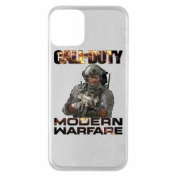 Чехол для iPhone 11 Call of Duty: Modern Warfare
