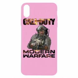 Чехол для iPhone X/Xs Call of Duty: Modern Warfare