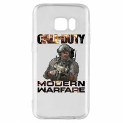 Чехол для Samsung S7 Call of Duty: Modern Warfare
