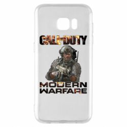 Чехол для Samsung S7 EDGE Call of Duty: Modern Warfare