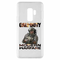 Чехол для Samsung S9+ Call of Duty: Modern Warfare