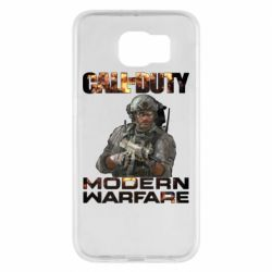 Чехол для Samsung S6 Call of Duty: Modern Warfare