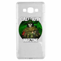 Чохол для Samsung A5 2015 Call of duty Warzone ghost green background