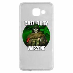Чохол для Samsung A5 2016 Call of duty Warzone ghost green background