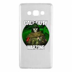 Чохол для Samsung A7 2015 Call of duty Warzone ghost green background