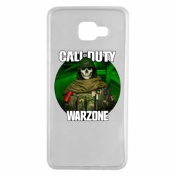Чохол для Samsung A7 2016 Call of duty Warzone ghost green background