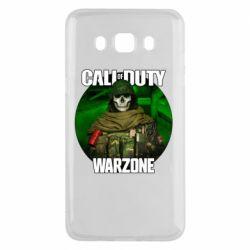 Чохол для Samsung J5 2016 Call of duty Warzone ghost green background