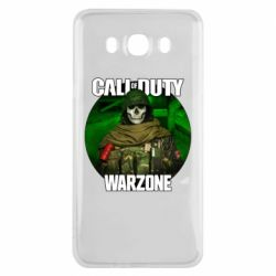 Чохол для Samsung J7 2016 Call of duty Warzone ghost green background