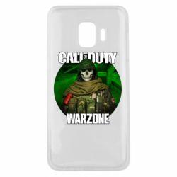 Чохол для Samsung J2 Core Call of duty Warzone ghost green background