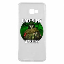 Чохол для Samsung J4 Plus 2018 Call of duty Warzone ghost green background