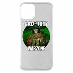 Чохол для iPhone 11 Call of duty Warzone ghost green background