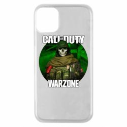 Чохол для iPhone 11 Pro Call of duty Warzone ghost green background