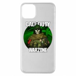 Чохол для iPhone 11 Pro Max Call of duty Warzone ghost green background