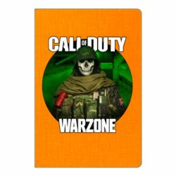 Блокнот А5 Call of duty Warzone ghost green background
