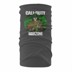 Бандана-труба Call of duty Warzone ghost green background