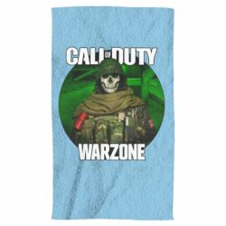 Рушник Call of duty Warzone ghost green background