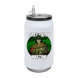 Термобанка 350ml Call of duty Warzone ghost green background