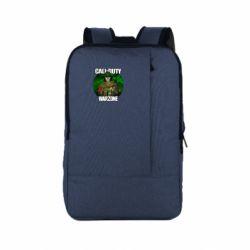 Рюкзак для ноутбука Call of duty Warzone ghost green background