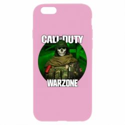 Чохол для iPhone 6 Plus/6S Plus Call of duty Warzone ghost green background
