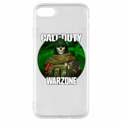 Чохол для iPhone 8 Call of duty Warzone ghost green background