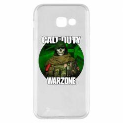 Чохол для Samsung A5 2017 Call of duty Warzone ghost green background