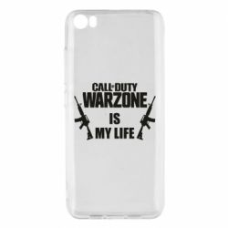 Чехол для Xiaomi Mi5/Mi5 Pro Call of duty warzone is my life M4A1