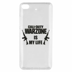 Чехол для Xiaomi Mi 5s Call of duty warzone is my life M4A1