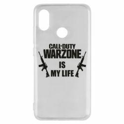 Чехол для Xiaomi Mi8 Call of duty warzone is my life M4A1