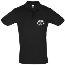 Мужская футболка поло Call of duty warzone is my life M4A1
