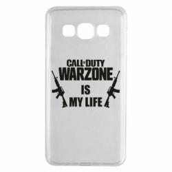 Чехол для Samsung A3 2015 Call of duty warzone is my life M4A1