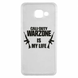 Чехол для Samsung A3 2016 Call of duty warzone is my life M4A1